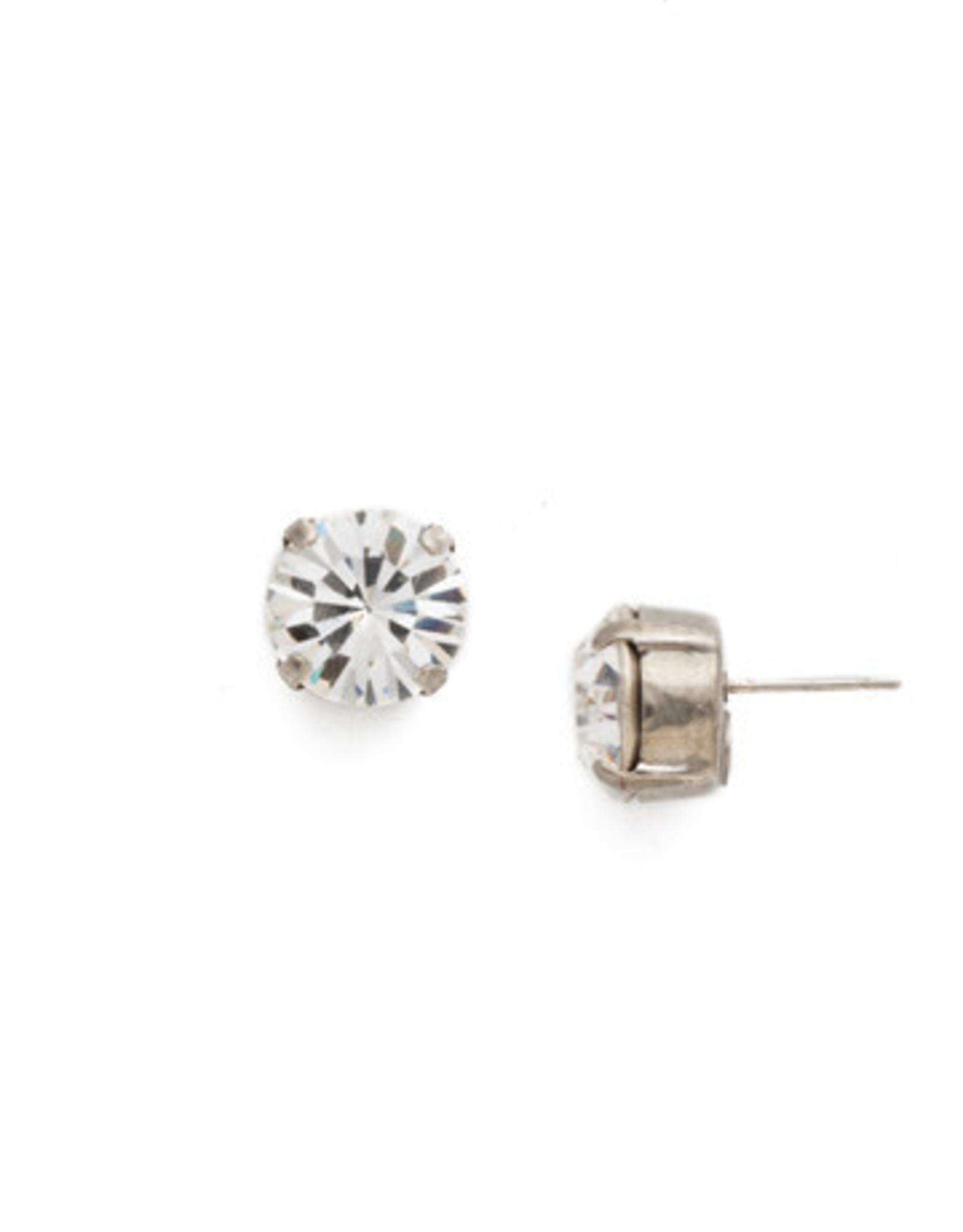 Sorrelli ECM14ASCRY - Crystal Round Crystal Stud Earring