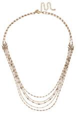 Sorrelli Driftwood Long Multi-Strand Necklace