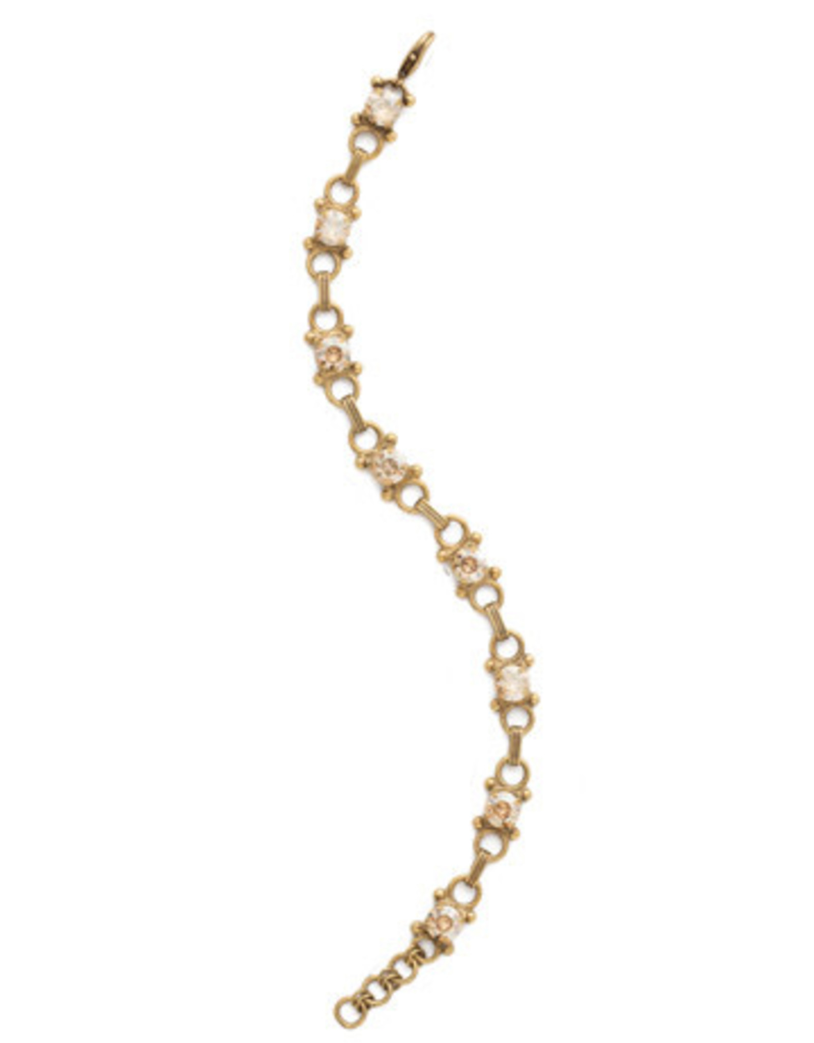 Sorrelli Dark Champagne Mini Eyelet Line Bracelet