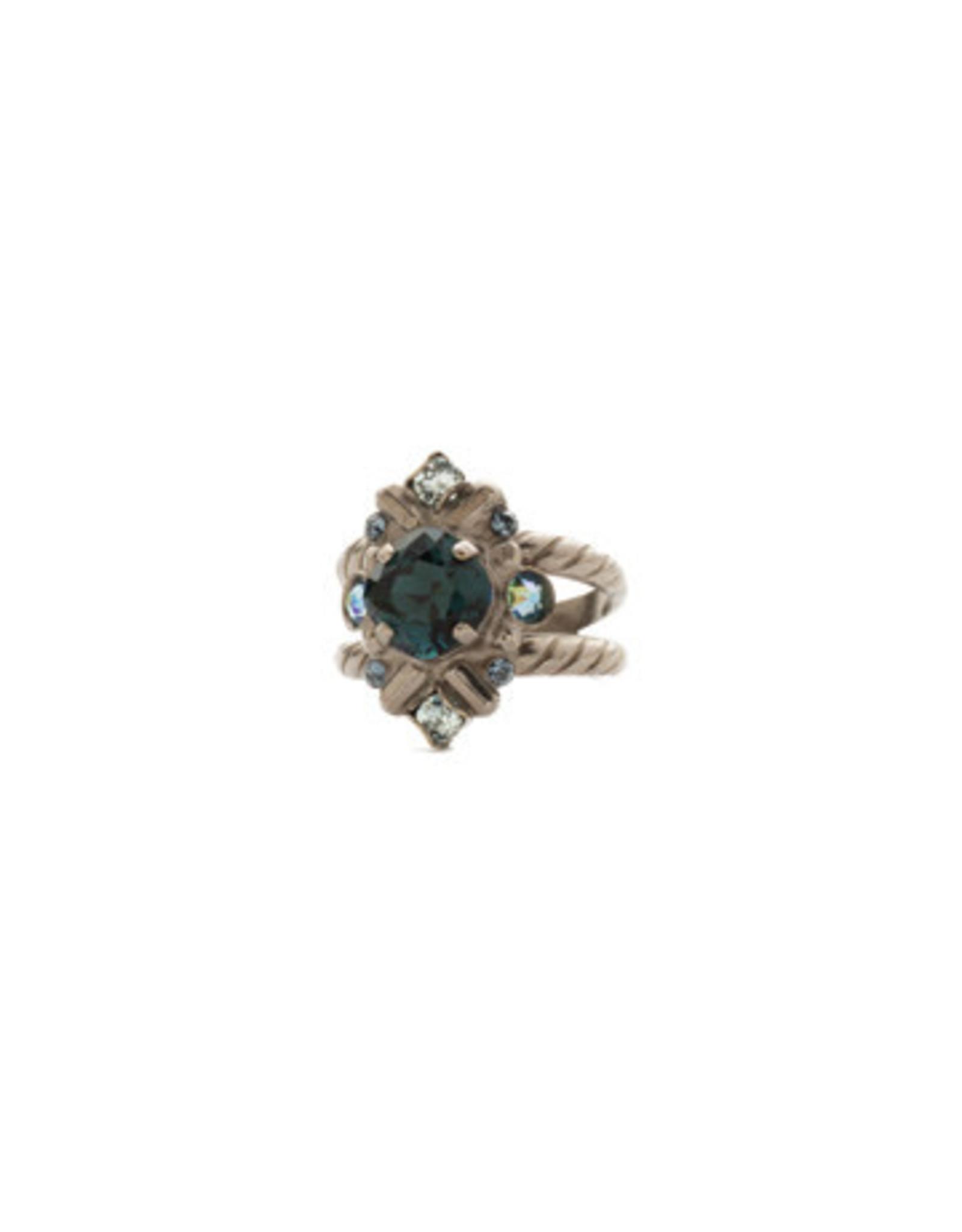 Sorrelli Blue Suede Stonecrop Ring