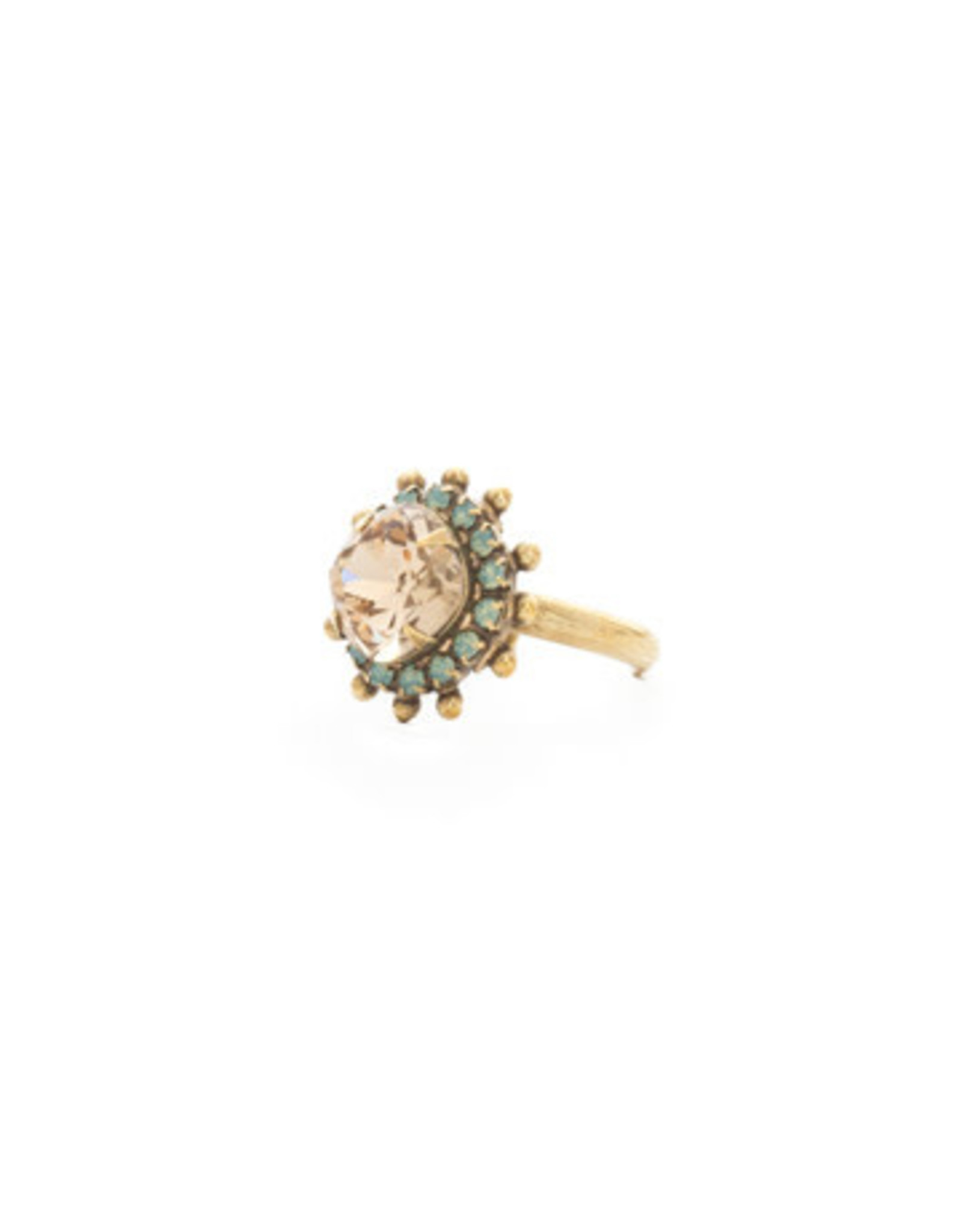 Sorrelli Driftwood California Poppy Ring