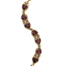 Sorrelli Royal Plum Primula Bracelet