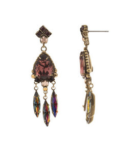 Sorrelli Mahogany Primrose Earring