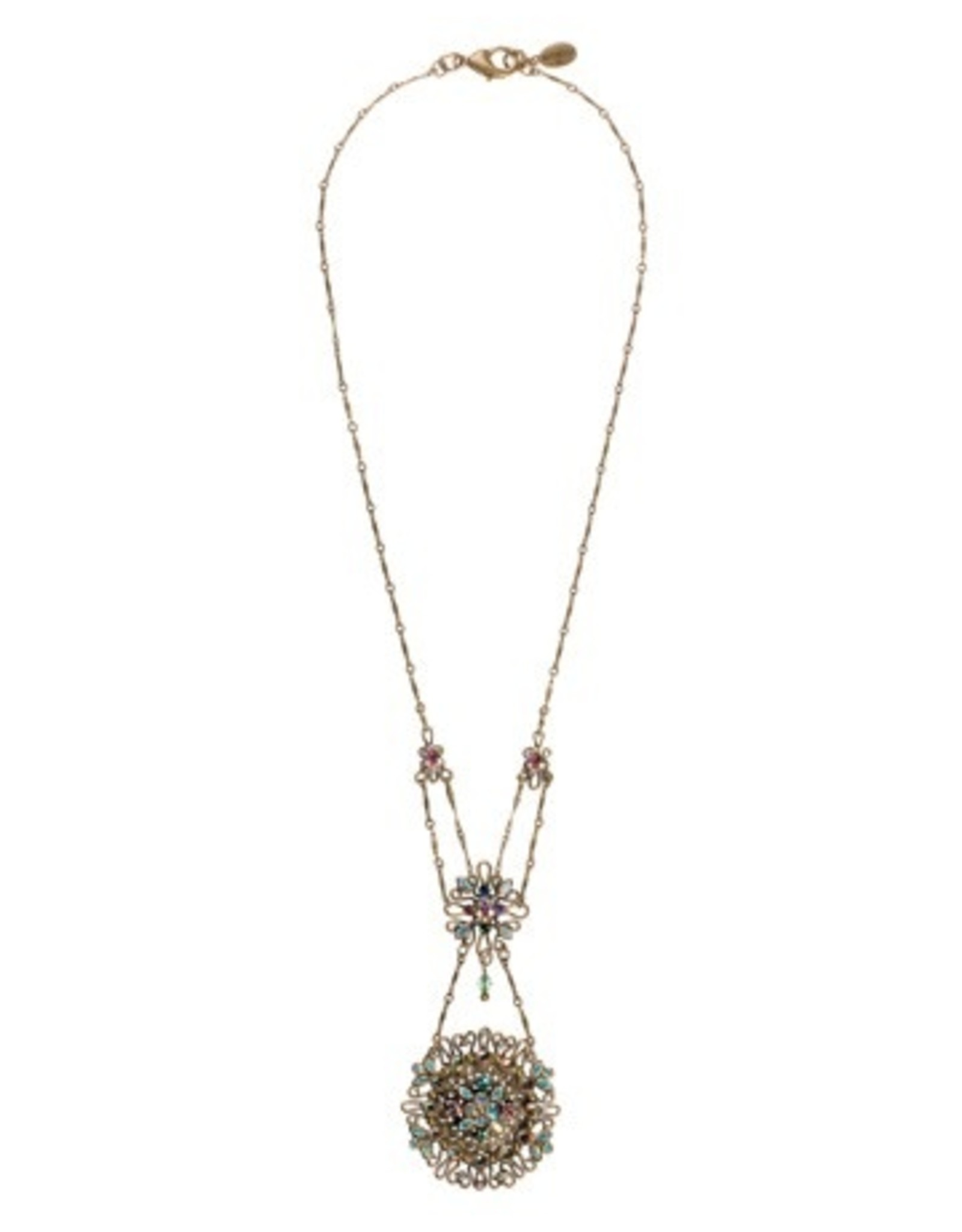 Sorrelli Smitten Crystal Tiered Style Pendant Necklace