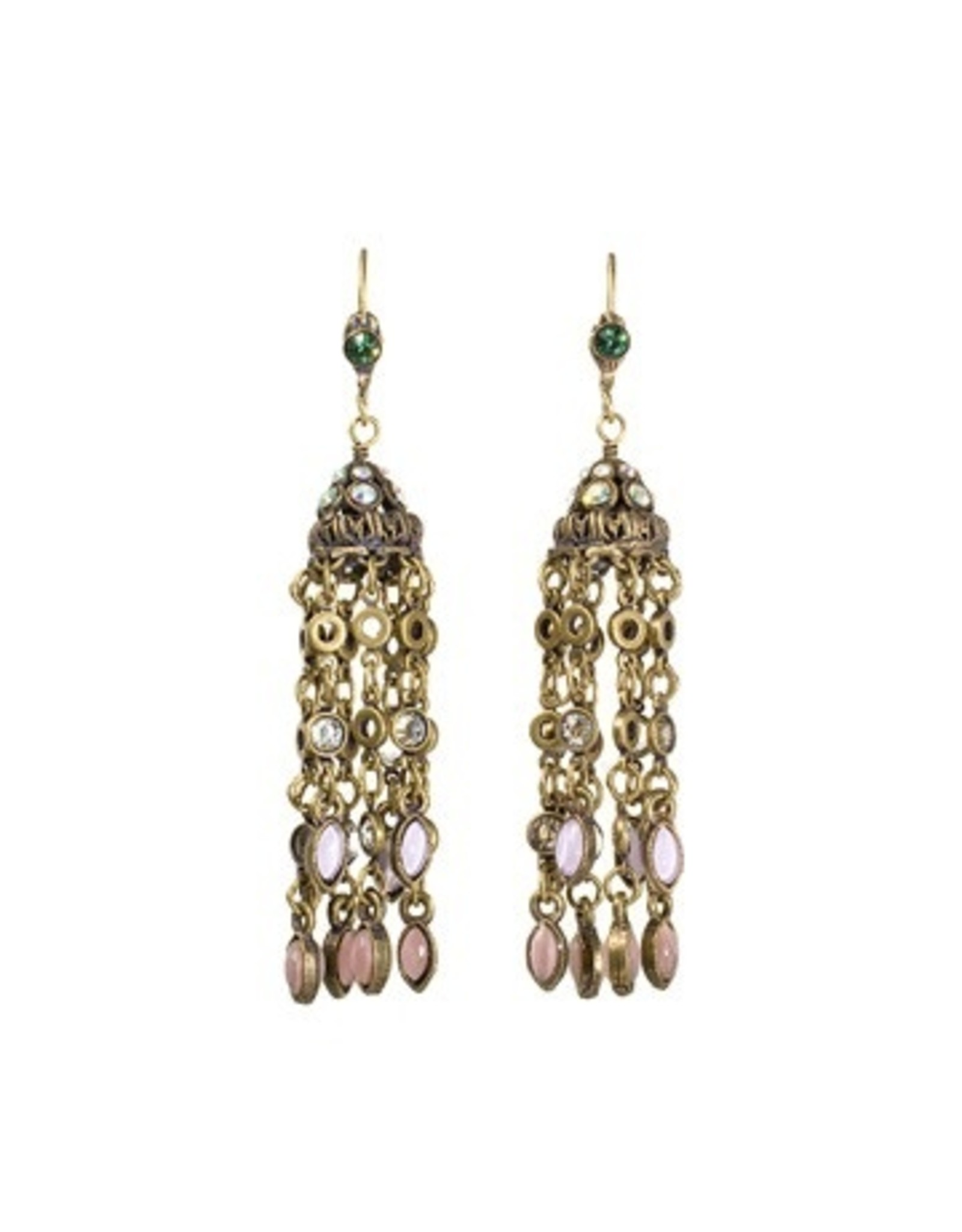 Sorrelli Smitten Crystal Tassel Earrings