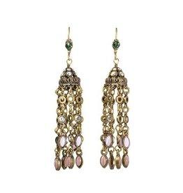 Sorrelli Smitten Crystal Tassel Earrings