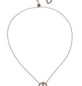 Sorrelli Silky Clouds Alivia Adjustable Choker Necklace