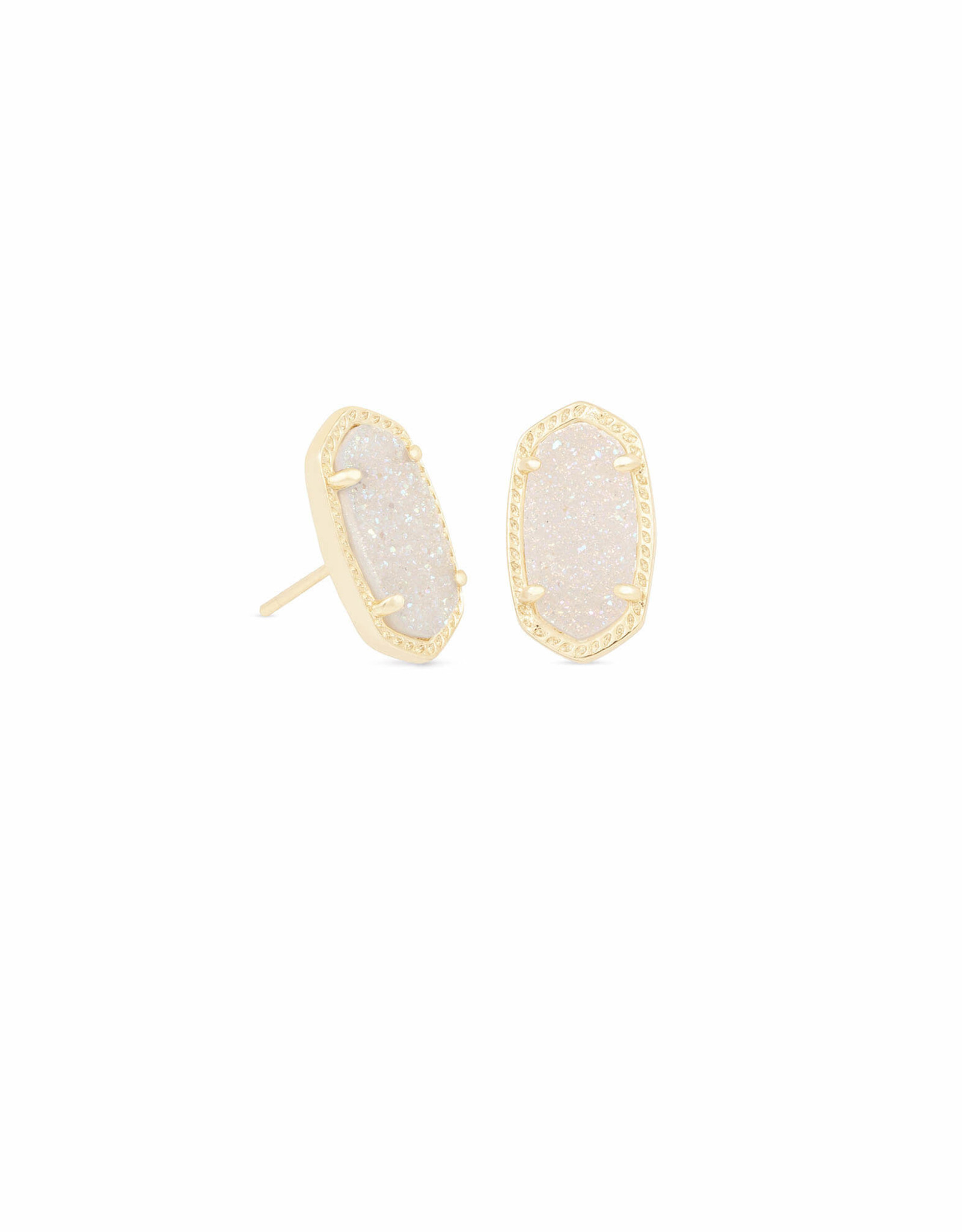 Kendra Scott Ellie Earring - Iridescent Drusy/Gold