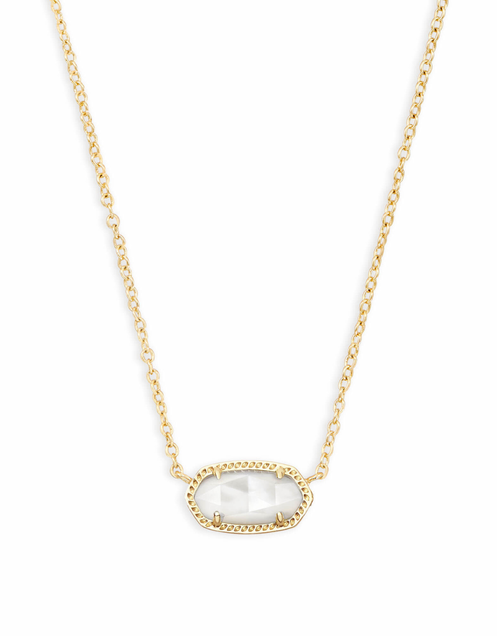 Kendra Scott Elisa Necklace - Ivory MOP/Gold