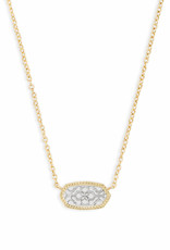 Kendra Scott Elisa Necklace - Gold/Rhodium