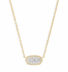 Kendra Scott Elisa Necklace - Gold/Rhodium