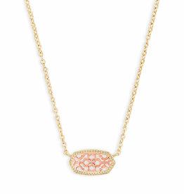 Kendra Scott Elisa Necklace - Rose Gold/Gold
