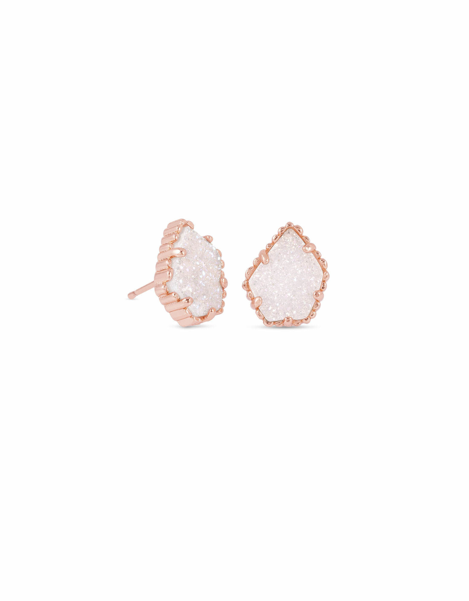 Kendra Scott Tessa Earring - Irdidescent Drusy/Rose Gold