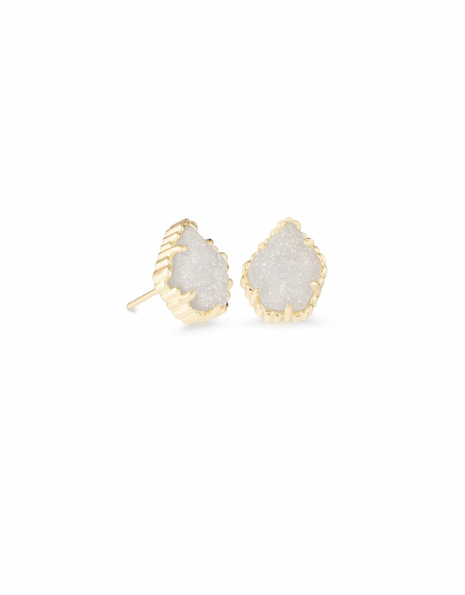 Kendra Scott Tessa Earring - Iridescent Drusy/Gold