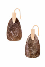 Kendra Scott Marty Earring - Sable Mica/Rose Gold