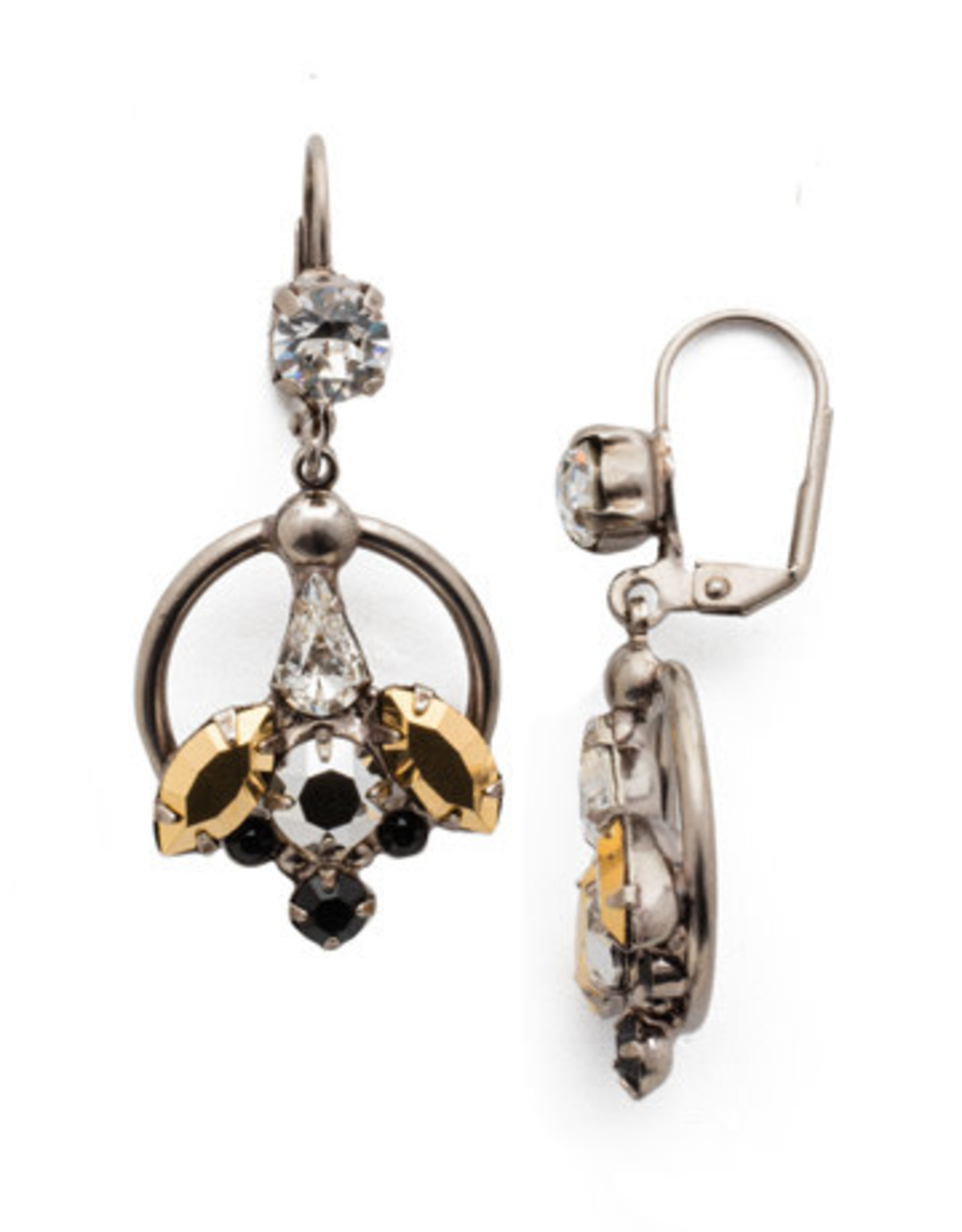 Sorrelli Heavy Metal Alivia Drop Earring