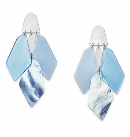 Kendra Scott Gracie Earring - Sky Blue Mix/BSV