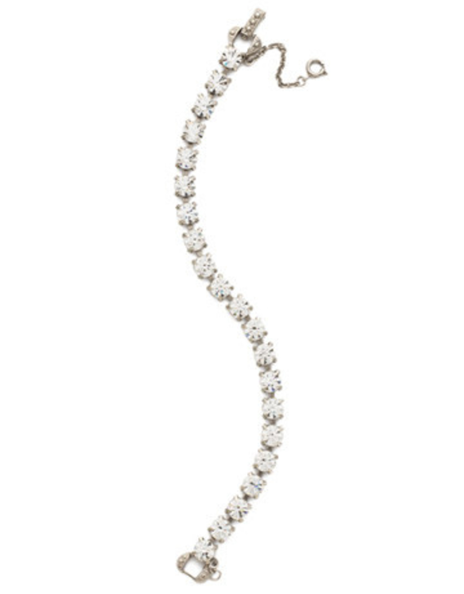 Sorrelli BCZ36ASCRY - Crystal Repeating Round Crystal Line Bracelet