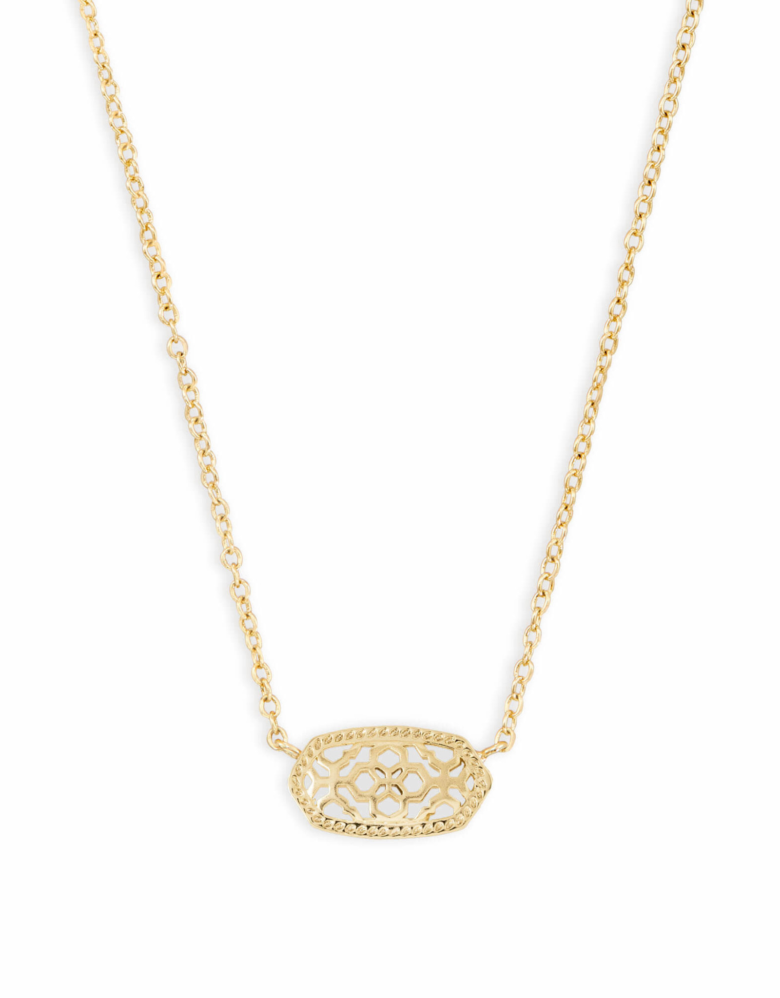 Kendra Scott Elisa Necklace - Gold/Gold