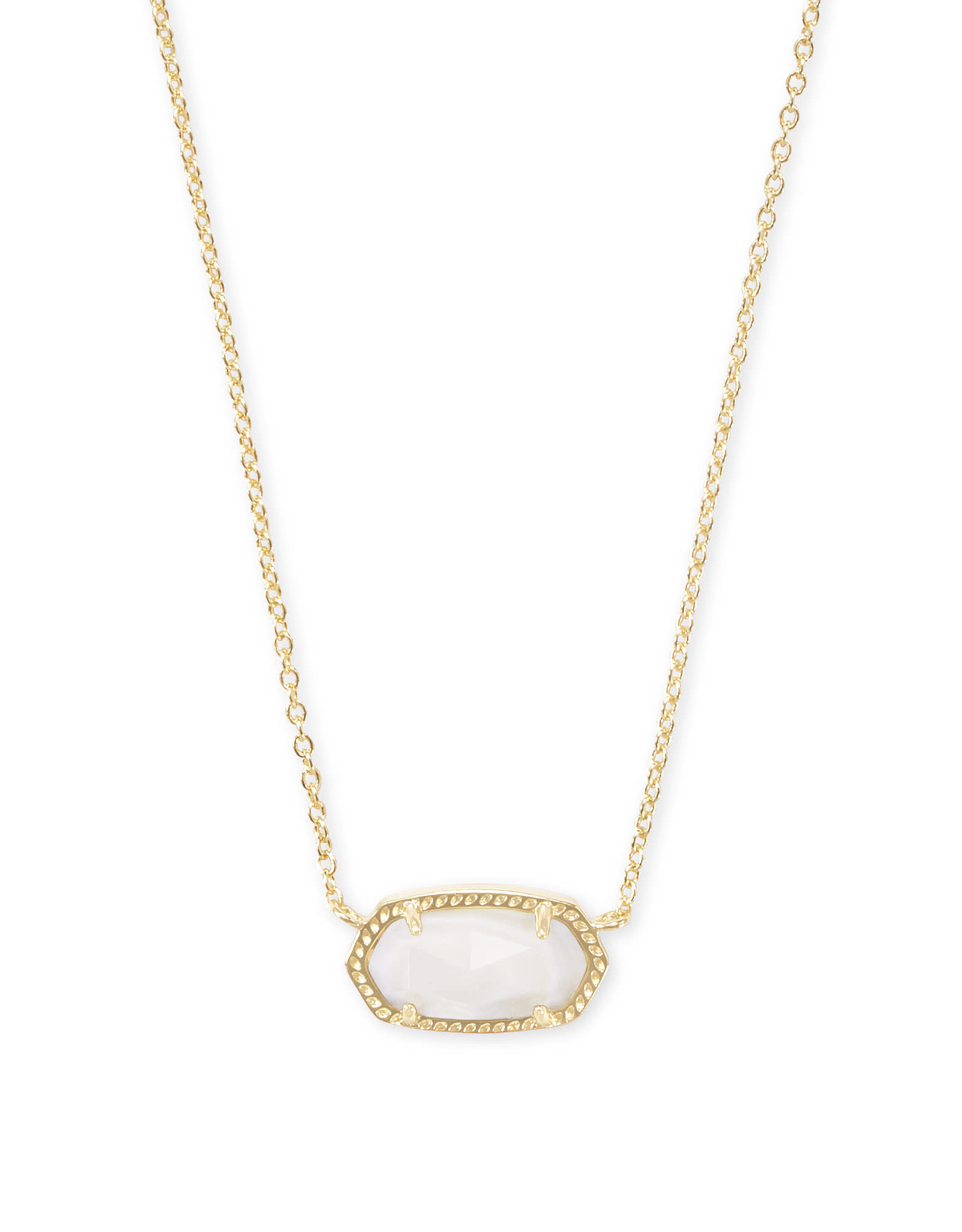 Kendra Scott Elisa Necklace - White MOP/Gold