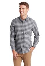 Slim Fit Gray Oxford Murray Dress Shirt