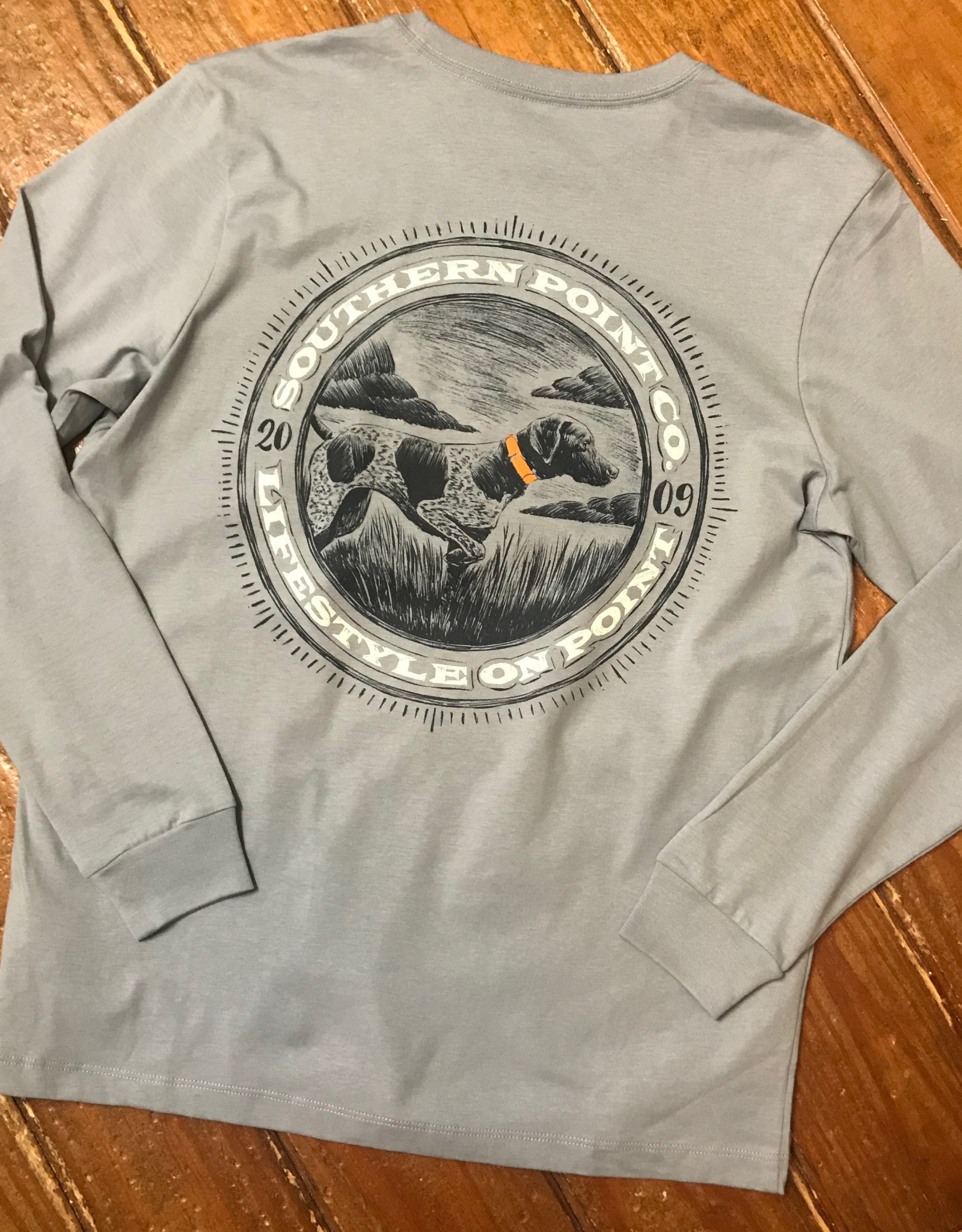 Southern Point Co Circle Greyton L/S Signature Tee