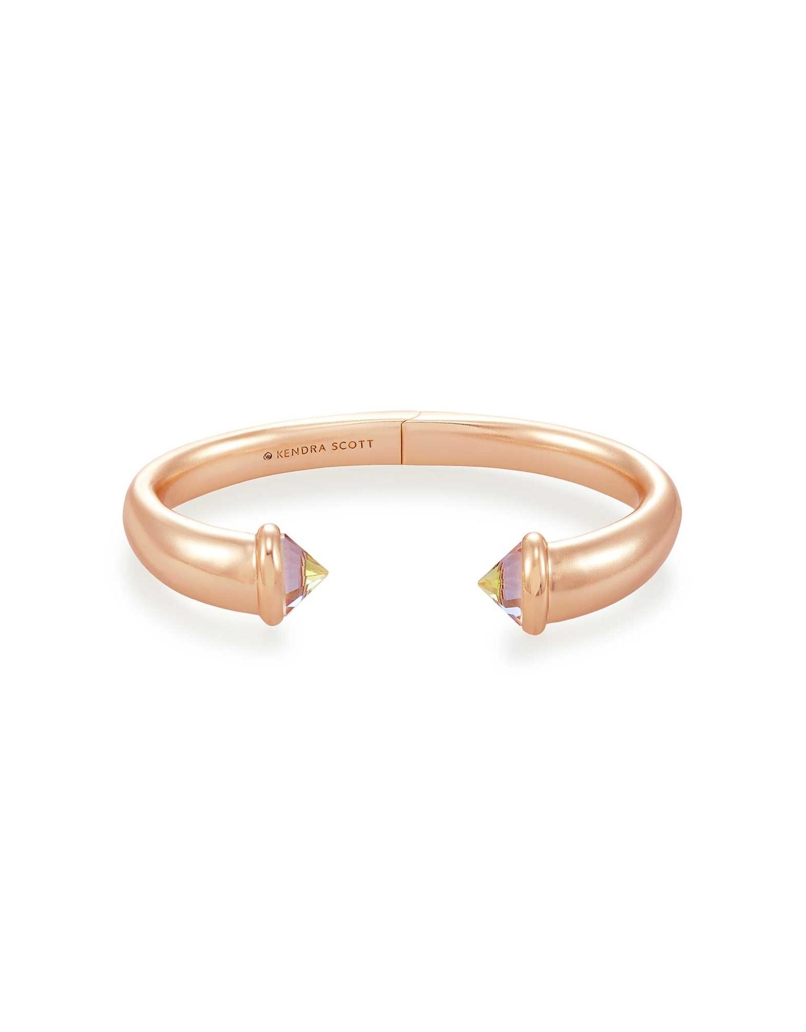 Kendra Scott Jolie Cuff Bracelet - Dichroic Glass/Rose Gold