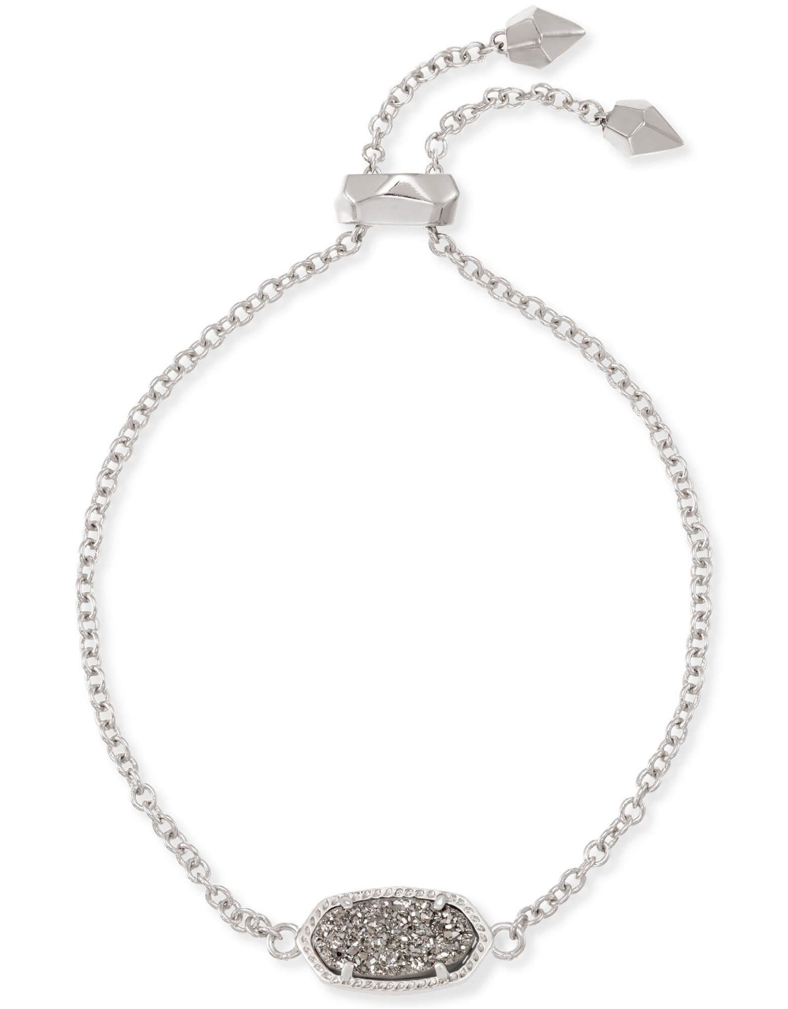 Kendra Scott Elaina Bracelet - Platinum Drusy/Rhodium