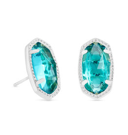 Kendra Scott Ellie Earring - London Blue/Rhodium
