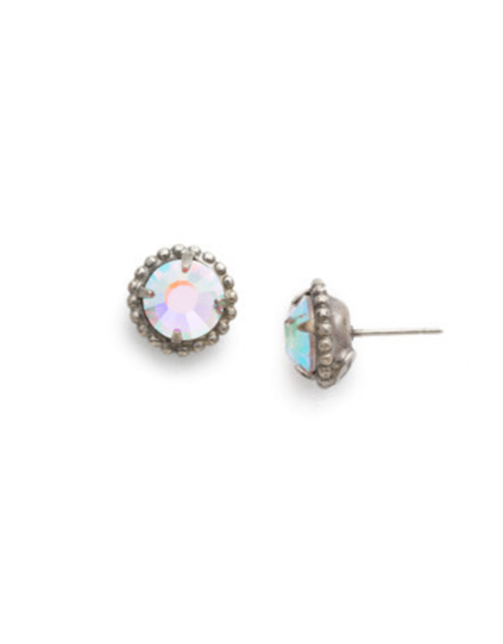 Sorrelli EBY38ASCAB - Crystal Aurora Borealis Simplicity Stud Earring