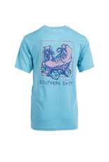 Southern Shirt Co 6T035 - Youth Girls Rinks Rule, Boys Drool SS Tee