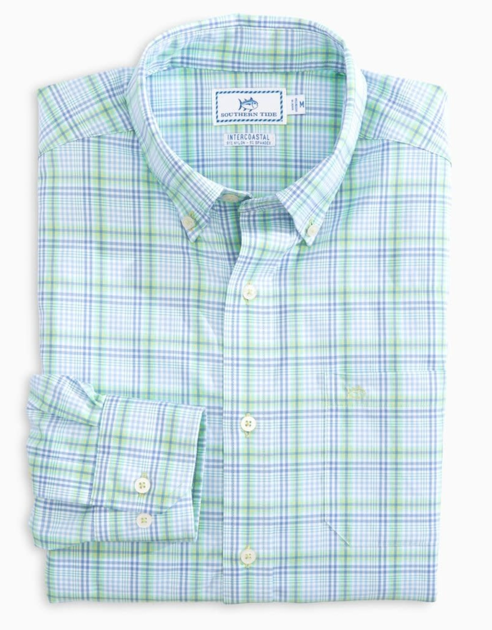 Southern Tide 6087 - Abound Plaid Intercoastal LS Sportshirt
