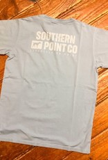 Southern Point Co Block Text Signature SS Tee