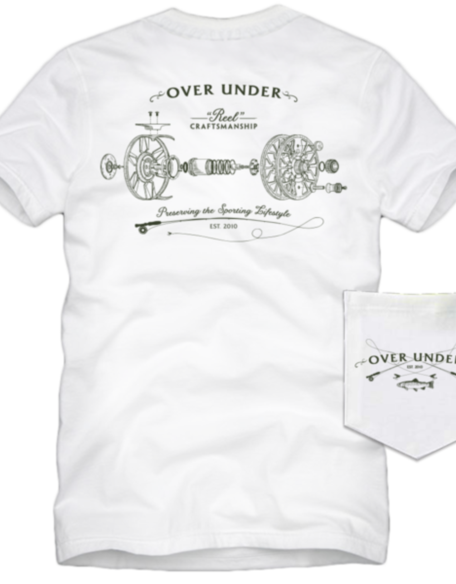 Over Under Clothing S/S Reel Craftsmanship Fly Tee