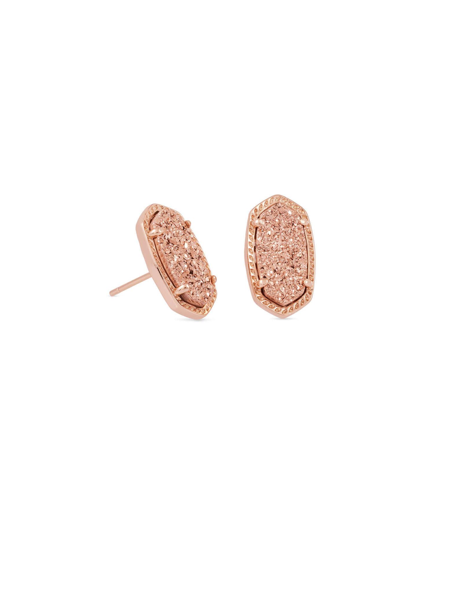 Kendra Scott Ellie Earring - Rose Gold Drusy/Rose Gold