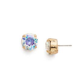 Sorrelli ECM14BGCAB - Crystal Aurora Borealis Round Crystal Stud Earring