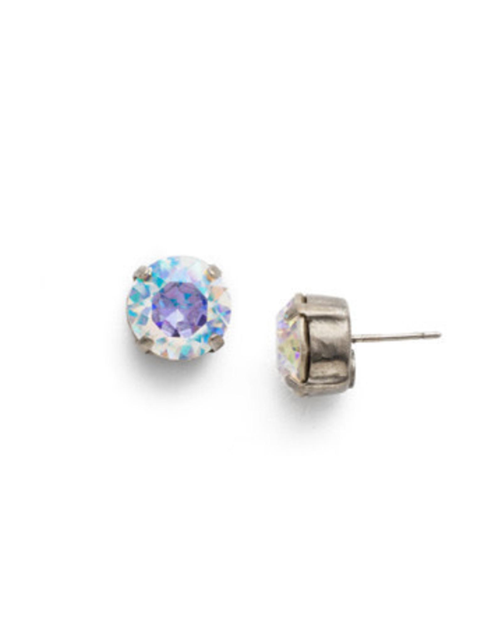 Sorrelli ECM14ASCAB - Crystal Aurora Borealis Round Crystal Stud Earring