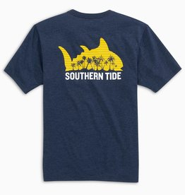 Southern Tide Beach Sunset SS Tee