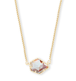 Kendra Scott Tess Necklace - Dichroic Glass/Gold