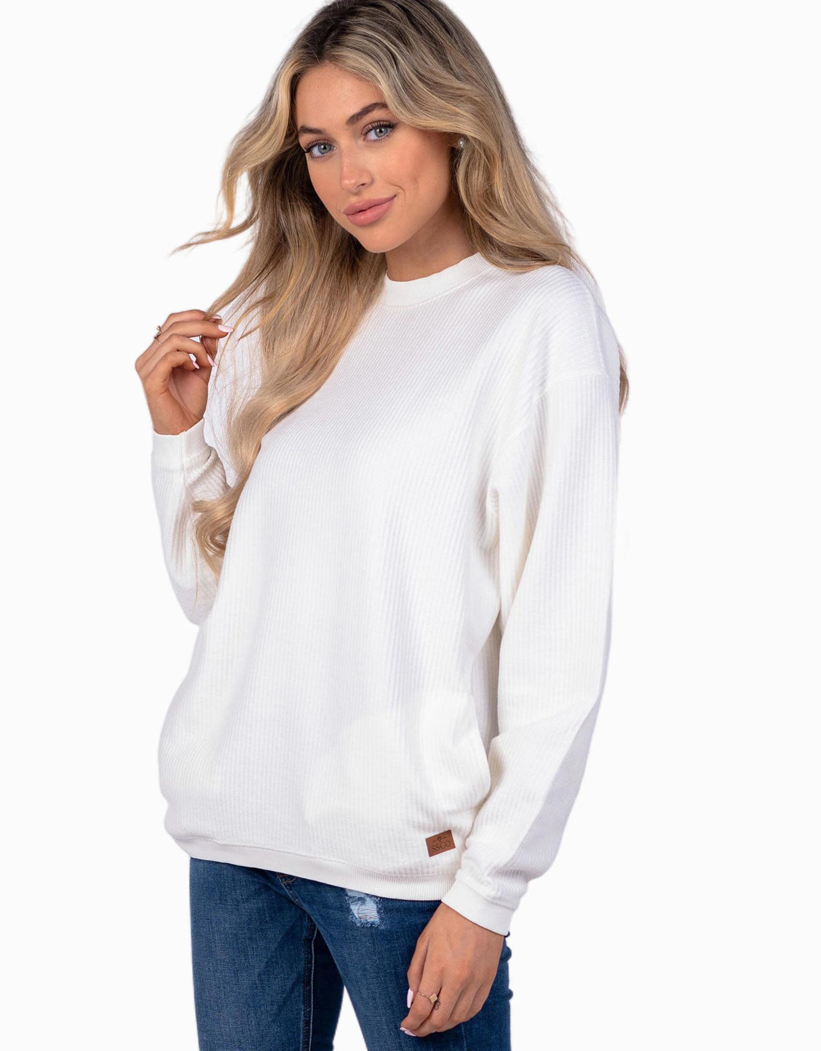 Southern Shirt Co Corduroy Sweatshirt