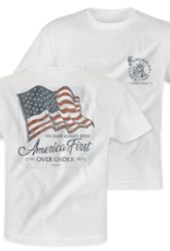 Over Under Clothing AH1025 - America First SS Tee