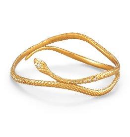 Kendra Scott Phoenix Bangle Bracelet - Vintage Gold