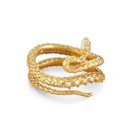 Kendra Scott Phoenix Wrap Ring - Vintage Gold