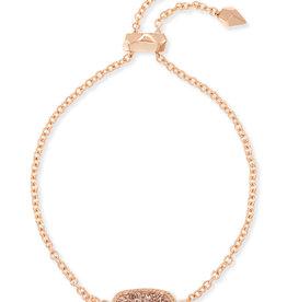 Kendra Scott Elaina Bracelet - Rose Gold Drusy/Rose Gold