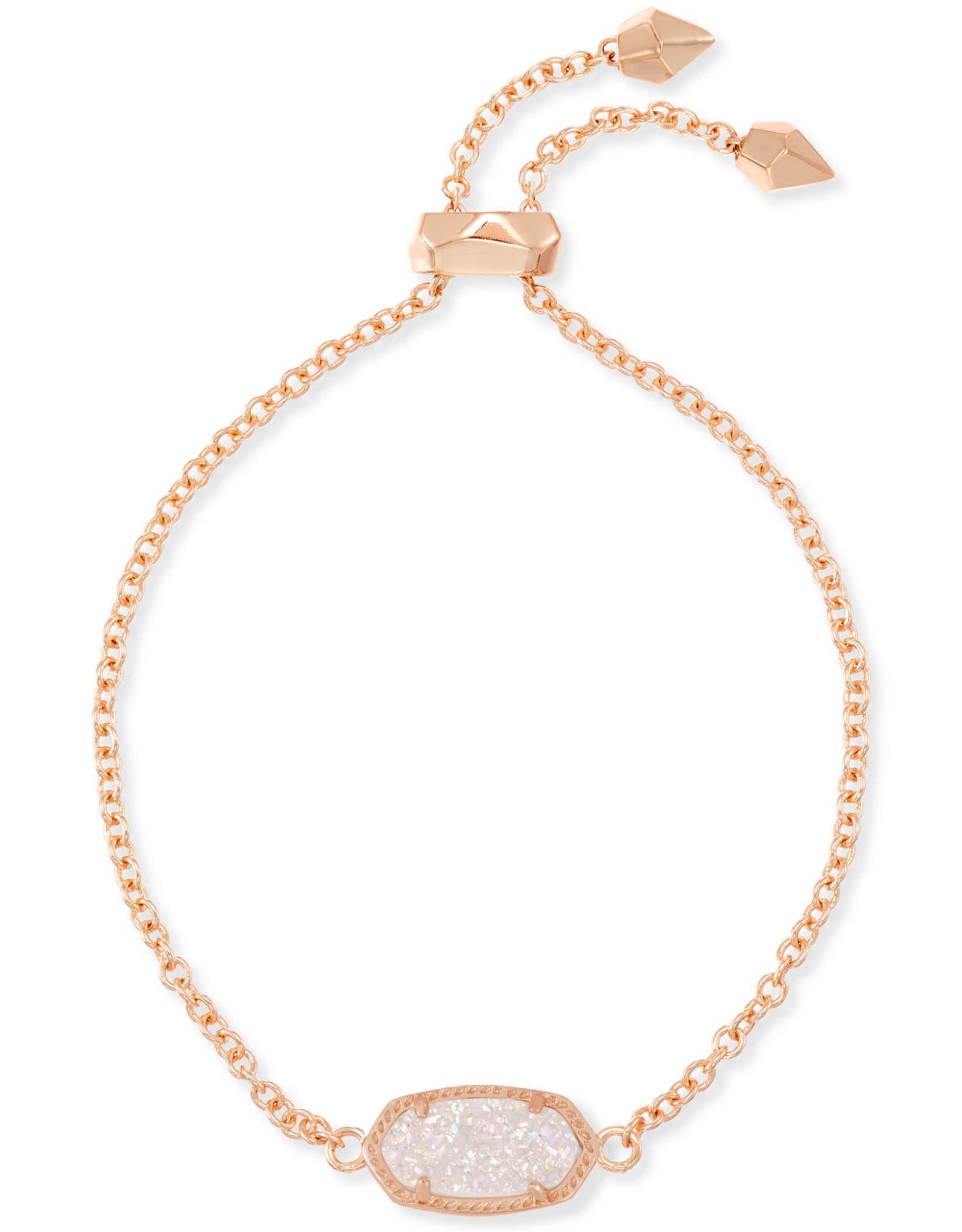 Kendra Scott Elaina Bracelet - Iridescent Drusy/Rose Gold