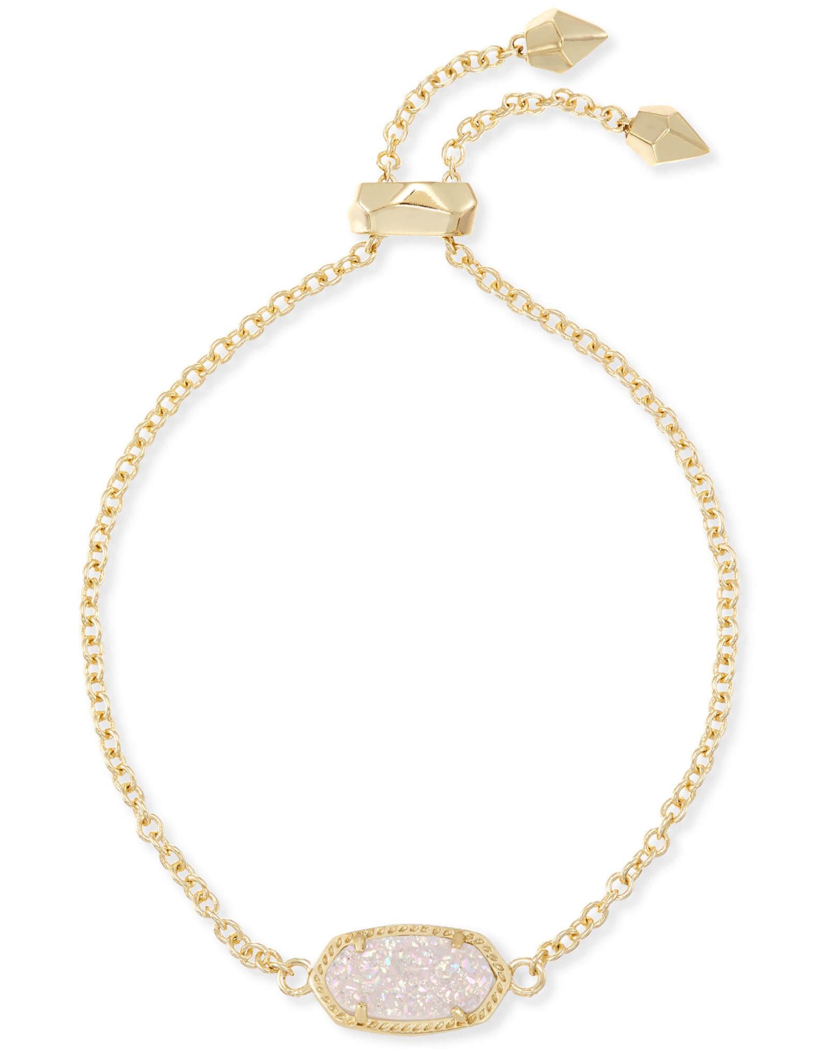 Kendra Scott Elaina Bracelet - Iridescent Drusy/Gold