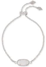 Kendra Scott Elaina Bracelet - Iridescent Drusy/Rhodium