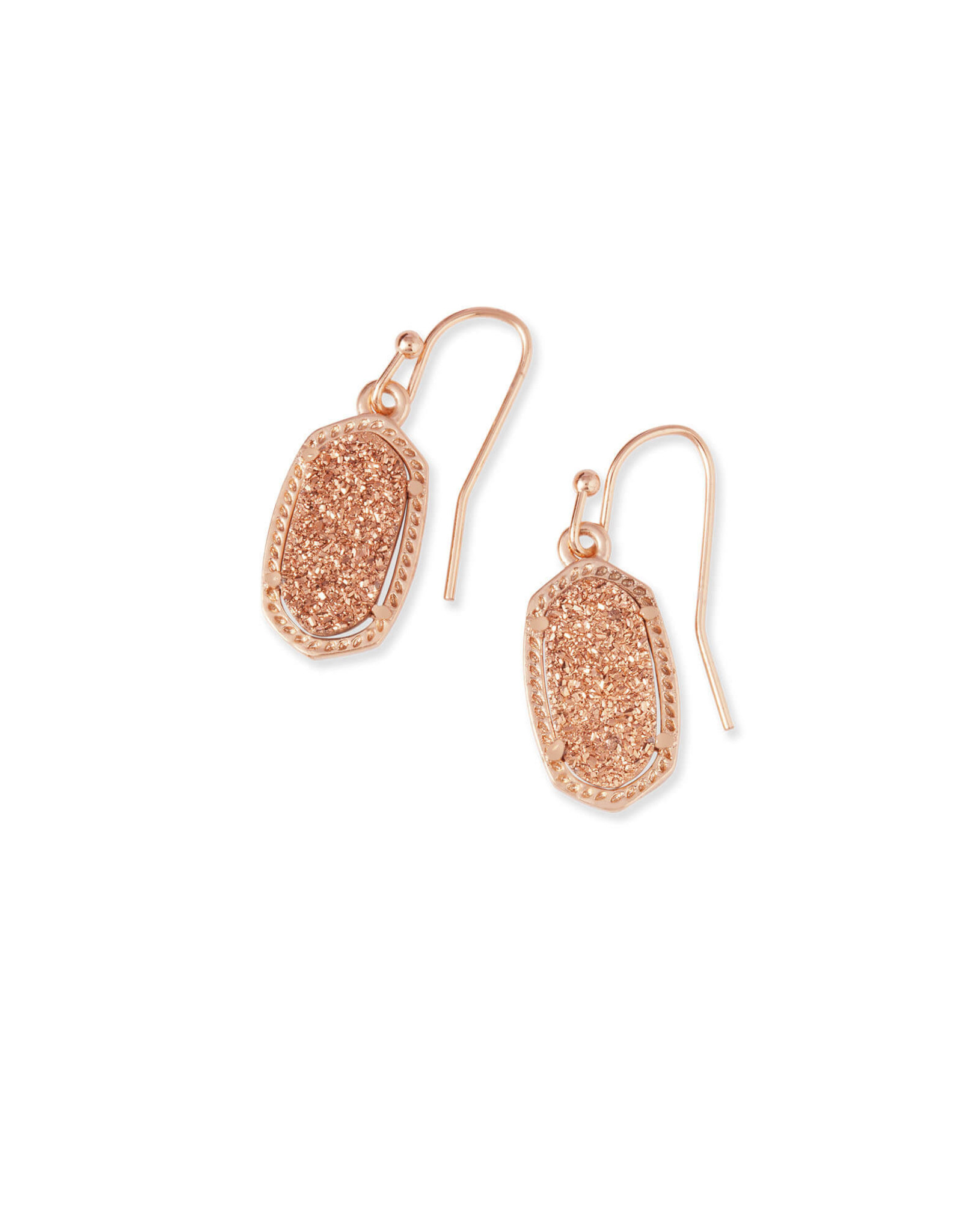 Kendra Scott Lee Earring - Rose Gold Drusy/Rose Gold