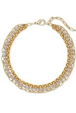 Kendra Scott Brylee Multi Strand Necklace - Mixed Metal