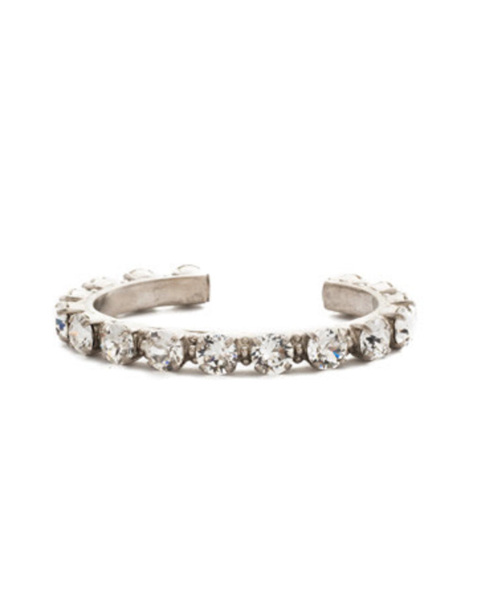 Sorrelli BCL23ASCRY - Crystal Riveting Romance Cuff Bracelet